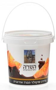 גלידת שוקולד תפוז אורגנית
