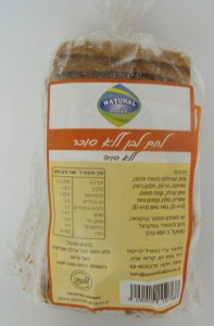 לחם ללא סוכר