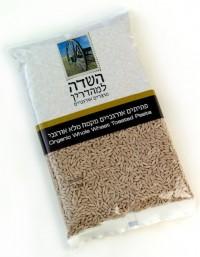 פתיתים אורגניים מקמח מלא בצורת אורז